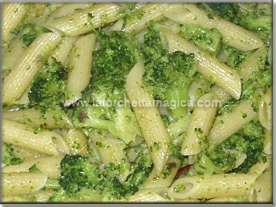 leaving home penne rigate with broccoli recipes dishmaps leaving home ...